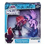 MLP The Movie Fan Series Tempest Shadow and Twilight Sparkle packaging