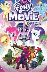 MLP The Movie Prequel TPB Scholastic Book Fair cover