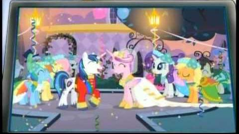 My Little Pony Royal Wedding Commercial