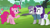 "Pinkie Pie ""you guys wanna ride the swans"" S6E3"