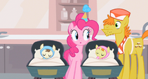 Pinkie Pie double checking S2E13