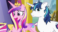 "Princess Cadance ""we could really use a night out"" S7E3"