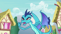 "Princess Ember ""winner of the Gauntlet of Fire"" S7E15"