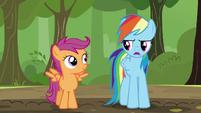 "Rainbow ""okay, hot stuff!"" S5E17"