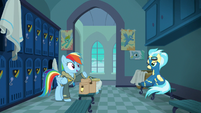 "Rainbow Dash ""a sleepover with Pinkie!"" S6E24"