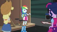 """Rainbow Dash """"knows their way around better"""" EGS2"""