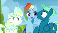 Rainbow Dash --you can either stay mad-- S6E24