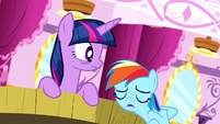 Rainbow Dash -didn't think mine was that scary- S5E13