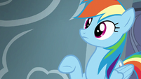 Rainbow Dash hears Pinkie Pie S6E7