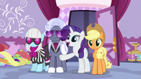 "Rarity ""prepare for tomorrow's big show"" S7E9"