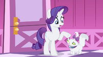 Rarity -Perhaps waiting would be best- S4E19