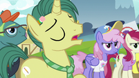 Reporter Pony -if she'd stayed in Canterlot- S7E14