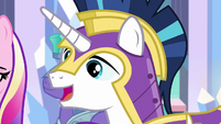 "Shining Armor ""maybe we can change that"" S6E16"