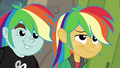 Snips and Snails wearing rainbow wigs EGDS12b.png