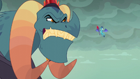 Torch angry at his daughter S6E5