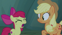 "Apple Bloom ""oh, apple rot!"" S7E16"