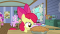 Apple Bloom carries the pie to the table S6E4.png