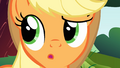 Applejack 'I never told you that story' S1E23.png