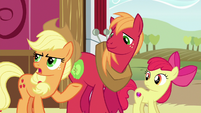 Applejack --might as well tell her the whole story-- S6E23