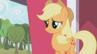 Applejack apologizing S01E04