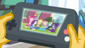 Equestria Girls on the playback device EGFF.png