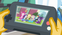 Equestria Girls on the playback device EGFF