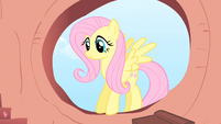 Fluttershy saying woo hoo S1E16
