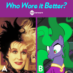 Hub Network 'Who Wore it Better?' Facebook image