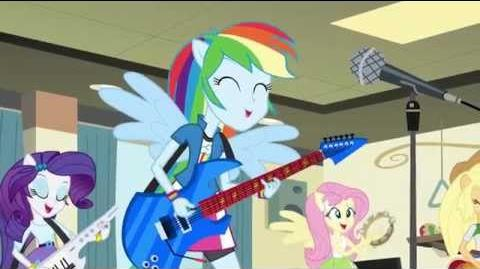 MLP EG - Rainbow Rocks Music Better Than Ever HD