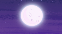 Moon shining over Equestria S6E25