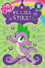 My Little Pony We Like Spike! storybook cover