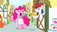 "Pinkie Pie ""I'm gonna need the full rainbow"" S4E12"