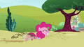 Pinkie Pie braking into the ground S3E3.png