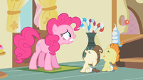 Pinkie Pie think of something S2E13
