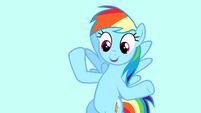 Rainbow -the anniversary of when I moved to Ponyville- S4E12