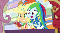 "Rainbow Dash ""forty percent off!"" EGROF"