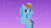 "Rainbow Dash ""nighttime forever?"" S1E02"