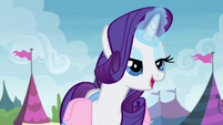 Rarity -so glad you showed that to me- S4E22
