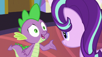 """Spike """"what are you wearin"""" S7E1"""