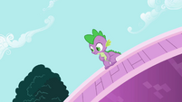 Spike catches sight S2E10