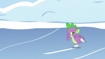 Spike ice-skating skillfully S5E5