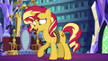 Sunset Shimmer awkwardly paws at the floor EGS3.png