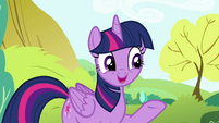 Twilight 'look how much fun Pinkie Pie's having' S4E18