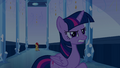 Twilight annoyed by Sunset's teleport EG.png