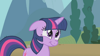 Twilight smiling warmly S1E10