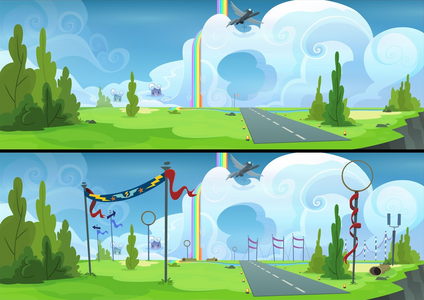 Wonderbolt Academy flying field