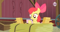 208px-Applebloom reading the 2nd RVSP S3E8