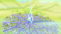 Aerial view of the Crystal Empire just freed S3E02.png