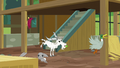 Animals in an uproar inside unfinished sanctuary S7E5.png