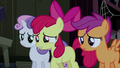 "Apple Bloom asking ""are you Trouble Shoes?"" S5E6.png"
